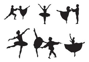 Nutcracker Ballet Vectors