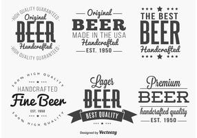 Editable Beer Labels / Insignias