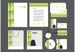 Spa Profile Template Vector