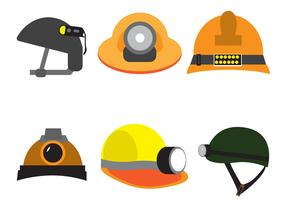 Free Vector Helmet Set