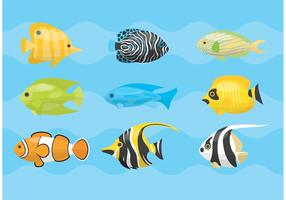 Tropical Fish Vectors