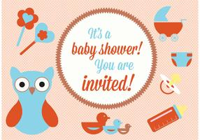 Baby Shower Vector Elements