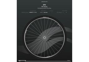 Fahrrad Rad Vektor