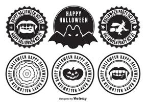 Distintivos de Halloween