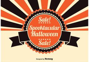 Halloween Sale Illustration