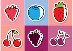 Cartoon Berries Vectors