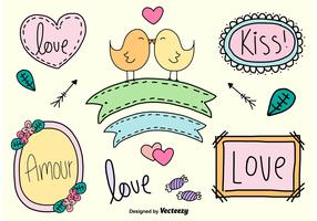 Hand Drawn Love Signs