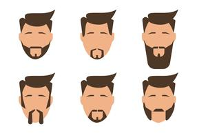 Bearded Men Vectors