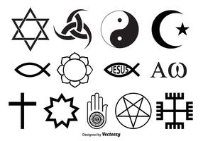 Religious Symbol Vectors