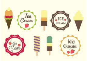 Ice Cream Designs and Labels