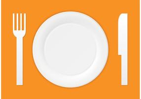Free Vector Paper Plate