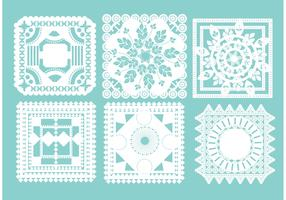 Square Doily Vectors