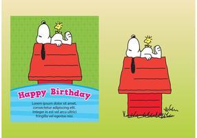 Snoopy Card Vectors
