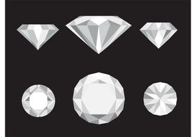 Vector Diamond Icons