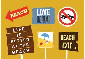Vector Beach Badges