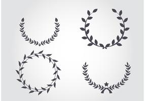 Antique Wreath Vectors
