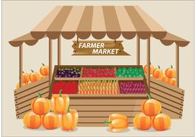 Farmers Market Vector