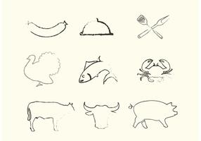 Sketchy Animal Vectors