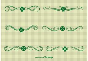 St. Patrick's Day Ornament Vectors