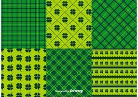 St. Patrick's Day Pattern Vectors