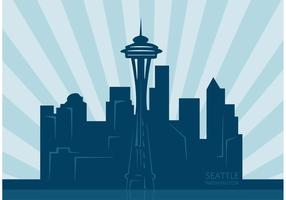Free Vector Seattle City Skyline
