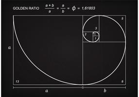 Free Golden Ratio Scheme Vector