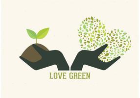 Free Vector Gardening Hands Concept