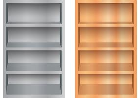 3D Shelves Vectors