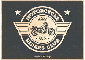 Vintage Motorcycle Riders Poster