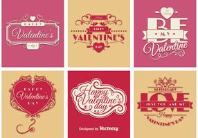 Valentine Sign Vectors