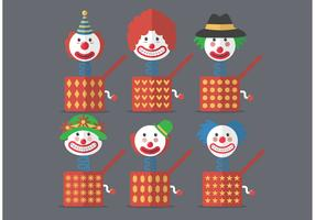 Jack in The Box Vector Icons