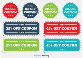 Discount Coupon Labels