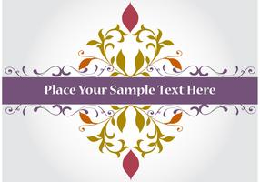 Purple Banner Vector Background
