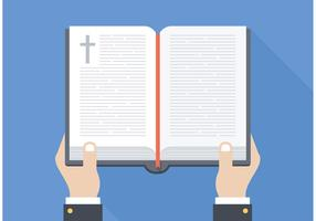 Free Open Bible Vector