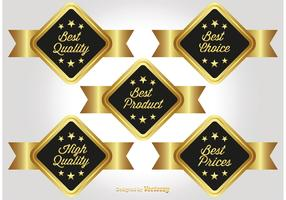 Gold Promotional Labels
