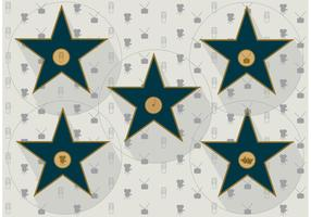 Walk of Fame Vector Stars