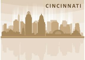 Cincinnati Skyline Vector