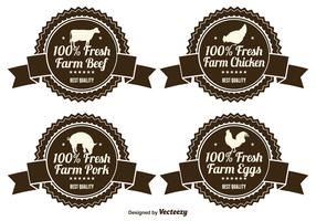 Fresh Farm Product Labels