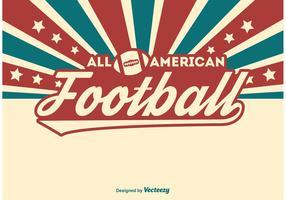 American Football Illustration