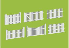 Picket Fences Vectors