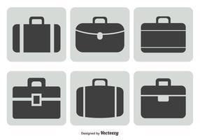 Briefcase Icon Set