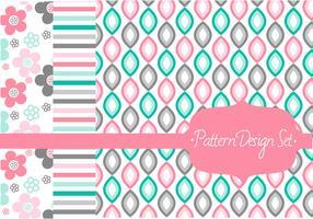 Stylish Pattern Vector Set