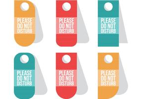 Do Not Disturb Vectors