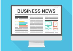 Free Vector Business News