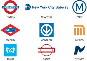Subway Logo Vectors