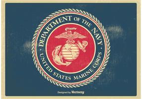 Vintage US Marine Corps Seal