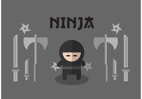 Conjunto de vectores de ninja