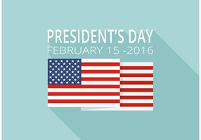 Free Presidents Day Vector Background