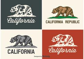 California Bear Labels