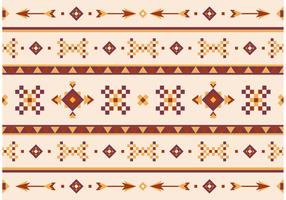 Native American Vector Pattern With Arrows
